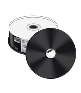 CD-R Mediarange Inkjet FullFace Printable Tarrina 25 uds (Negro)