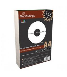 Paquete 100 etiquetas cd/dvd/blu-ray (41mm-118mm) AUTOADESIVAS