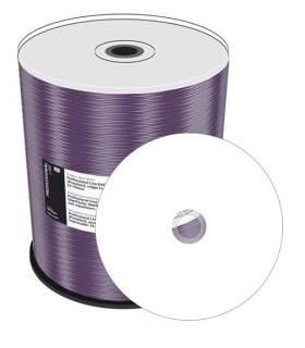 DVD+R Doble Capa 8X MediaRange Prof.Line FULLFACE Printable 100 uds