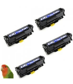 Pack 4 HP Q2612A/HP 12A toner compatible HP Laserjet 1010/1015/1018/1020/1022