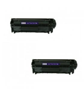 HP Q2612X / 12X NEGRO ALTA CAPACIDAD COMPATIBLE Nº 12X impresoras HP LaserJet 1010 / 1012 / 1015