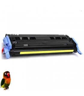 HP Q6002A AMARILLO Toner para Laserjet Color 1600/2600/2605/CM1015/CM1017/CP2600