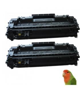 HP CE505A / 05A pack 2 TONER HP CE505A / 05A COMPATIBLE