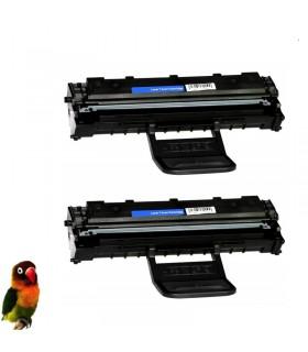 Pack 2 Toner compatibles para Samsung ML1640 ML1641 ML2240 ML2241
