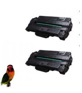 Pack 2 Toner para Samsung ML1910 ML1915 ML2525 ML2580 SCX4600 SCX4623 SF640