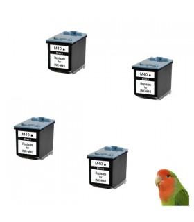 4x Tinta nonoem Samsung INK-M40 FAX SF-330 SF-335 SF-340 SF-345 SF-360 SF-365