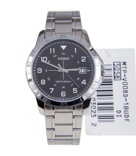 Reloj hombre CASIO MTP-V008D-1b plateado - acero