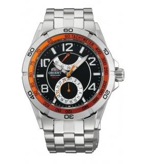 """ORIENT Automatic FFM00002B Power Reserve Watch """"Planet Orient"""""""