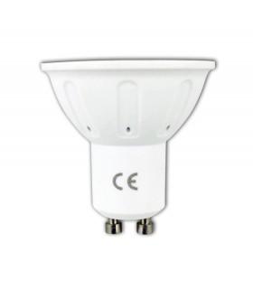 Foco LED Bajo Consumo 3W(30W) GU10 6400k