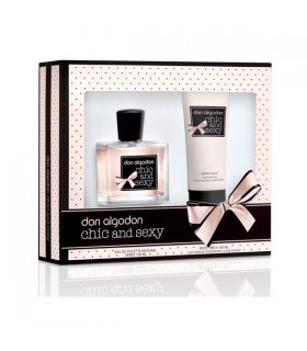 DON ALGODON CHIC AND SEXY EDT 100ML + BODY 100ML