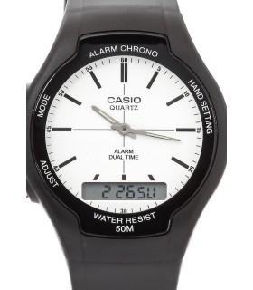 reloj hombre Casio AW-90H-7EV hora dual