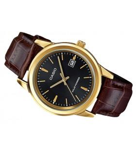 Reloj hombre Casio Solar MTP-VS01GL-1A correa cuero