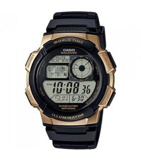 Reloj hombre Casio Digital AE-1000W-1A3 correa resina - hora mundial