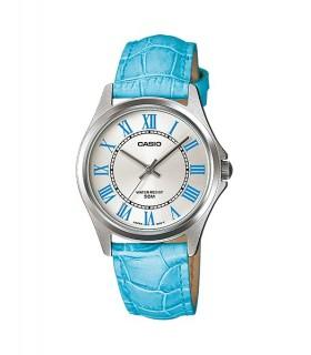 reloj mujer Casio LTP-1383l-2ev azul correa cuero