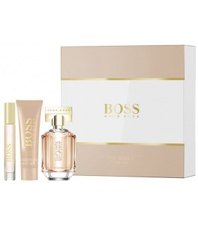 Boss The Scent for Her eau de parfum 50ml + mini 7.4ml + bodycream 50ml