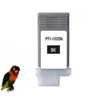 CANON PFI-102BK NEGRO tinta compatible IPF500 IPF510 IPF600 IPF6000 IPF610 IPF650 IPF700 IPF710 ....