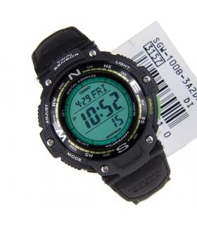 reloj hombre CASIO TWIN SENSOR SGW-100B-3A2 Brújula digital