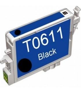 EPSON T0611 NEGRO Cartucho de tinta Compatible Negro Epson T0611