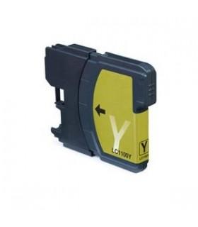 brother lc980Y/LC1100Y AMARILLO Cartucho tinta compatible para brother dcp y mfc